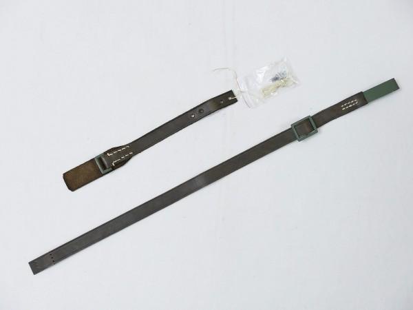 M18 Stahlhelm Kinnriemen Leder Sturmriemen für WK1 Helm Hörnerhelm