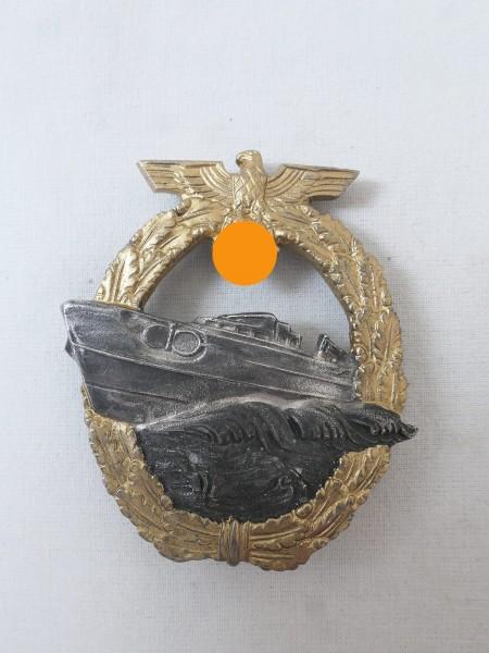 Kriegsmarine Schnellboot Kriegsabzeichen 2.Form