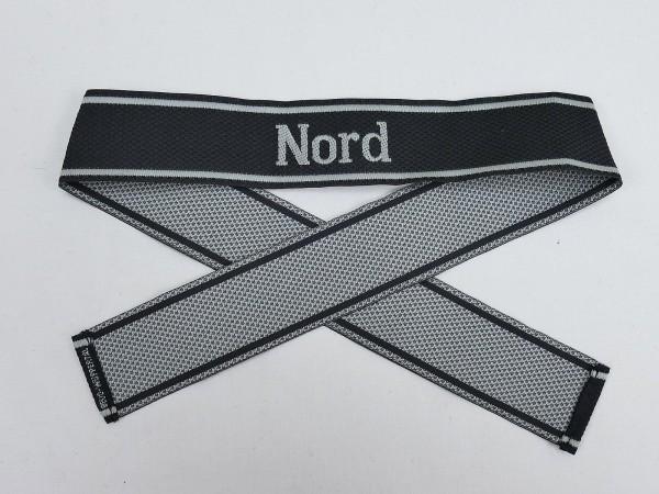 Wehrmacht Elite Waffen SS BEVO Ärmelband NORD Ärmelstreifen