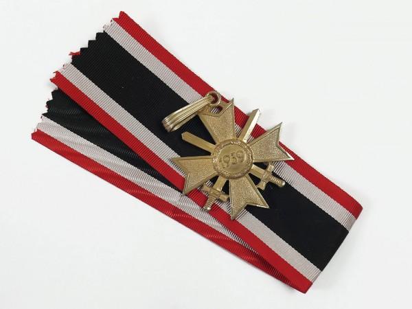 Ritterkreuz des Kriegsverdienstkreuz mit Schwertern am Band Stufe Gold