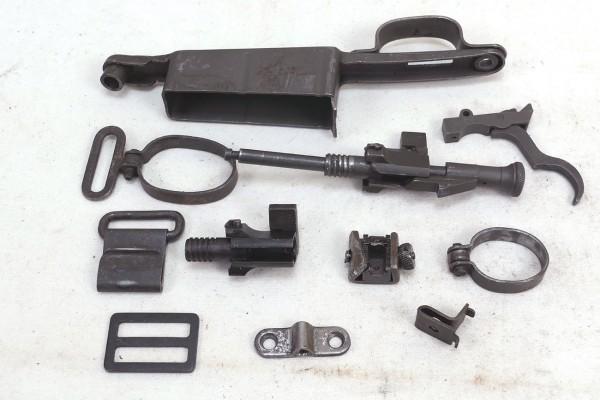 M1 Garand Rifle Springfield freie Waffenteile Einzelteile Anbauteile / Spare Parts US Army #9