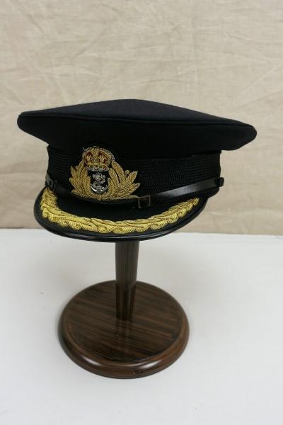 WW2 British Navy Officer Visor Hat Gr.59 Britische Marine Schirmmütze