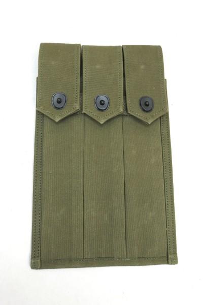 US Army WW2 Magazintasche für 3x Thompson Magazine / 30er Stangenmagazine