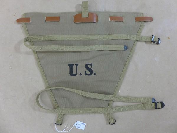 US ARMY WW2 Haversack extended pack carrier / Trapez Verlängerung Sturmgepäck