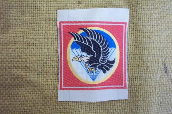 Abzeichen gewebt für Südvietnamesische Einheiten Fallschirmjäger