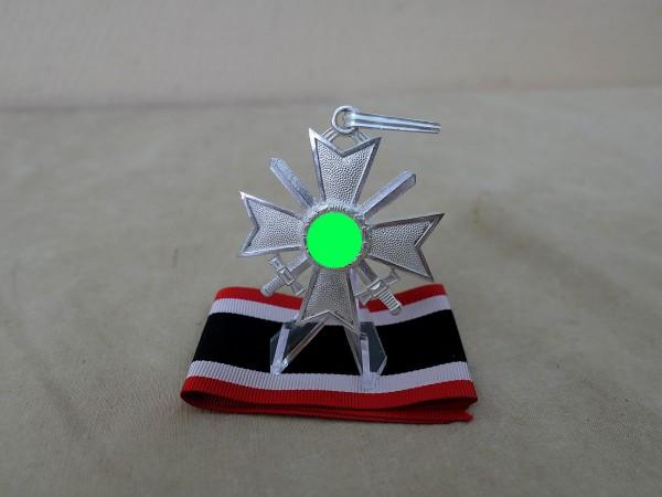 Ritterkreuz des Kriegsverdienstkreuzes KVK mit Schwertern Silber am Band