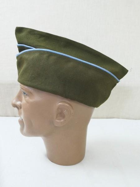 US ARMY WW2 Garrison Cap Infantry (Blue) Schiffchen Infanterie