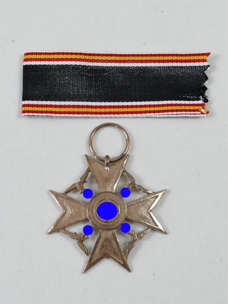Spanienkreuz L/21 Bronze am Band / Ehrenkreuz für Hinterbliebene Deutscher Spanienkämpfer