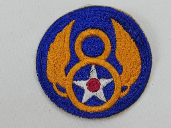 US ARMY WW2 Ärmel Abzeichen 8th Airforce Badge Patch