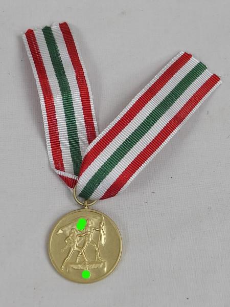 Medaille zur Erinnerung an die Heimkehr des Memellandes 22.März 1939 am Band