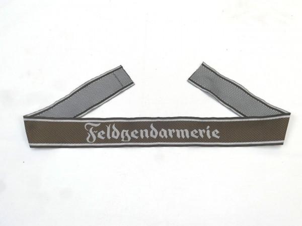 Wehrmacht Feldgendarmerie BEVO Ärmelband