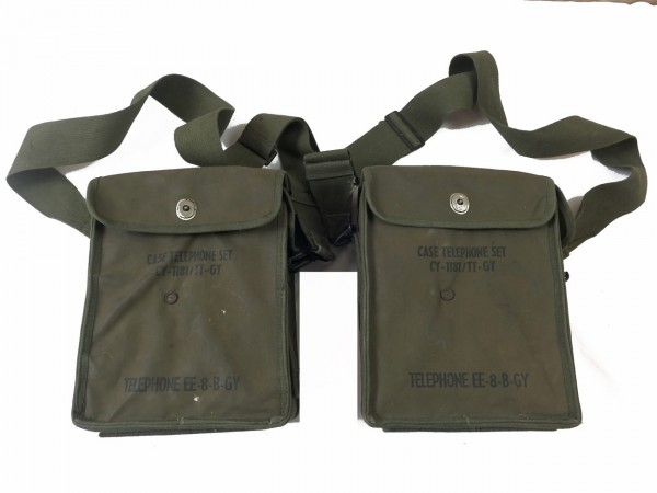 US Army EE-8-B-GY field telephone Feldfernsprecher Feldtelefon VIETNAM Korea Setpreis