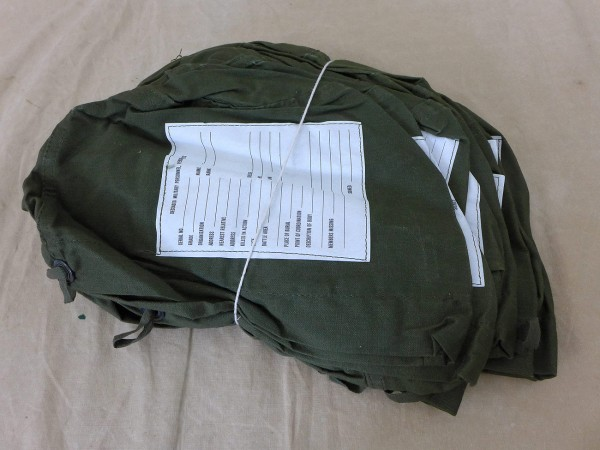 US Vietnam Bag Deceased military personnel, Personal Effects / Beutel
