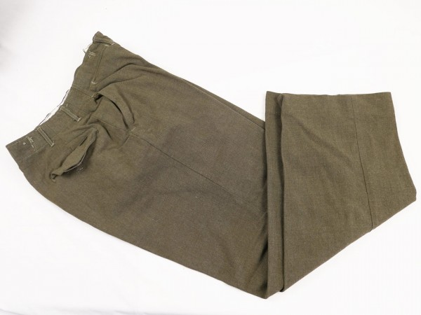 US ARMY WW2 Trousers field wool serge Pattern 1945