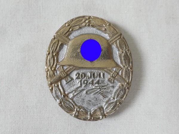 Wehrmacht Verwundetenabzeichen 20.Juli 1944 Stufe Gold