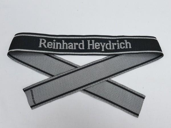 Wehrmacht Elite BEVO Ärmelband Waffen SS Division REINHARD HEYDRICH Ärmelstreifen