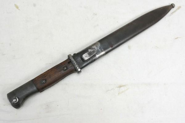 Original Wehrmacht Seitengewehr K98 Bajonett mit Scheide #3