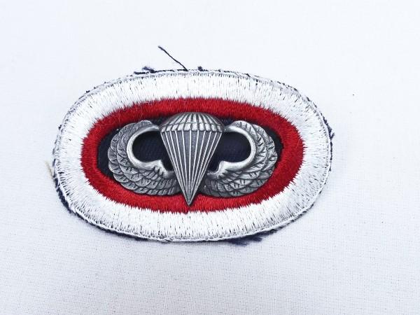 #05 US Airborne Jump Wing oval - Parachute badge Fallschirmjäger Abzeichen Springerabzeichen