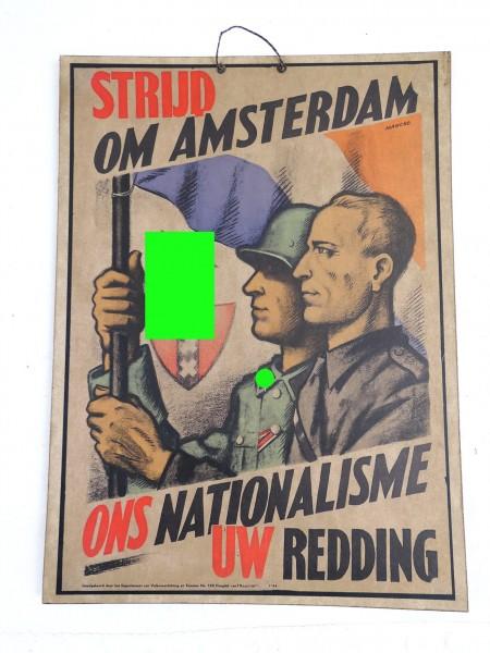 Plakat Bild auf festem Karton - Niederländische Freiwilligen WSS