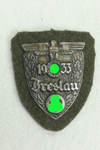 Ärmelschild Breslau 1933