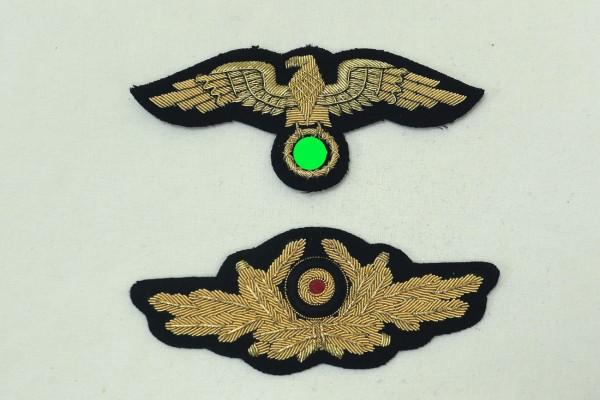 Mützenadler und Kokarde General diplomatisches Korps