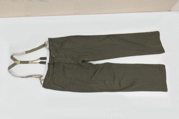 Afrikakorps Tropenhose M40 DAK Uniformhose Feldhose mit Hosenträgern Gr.54