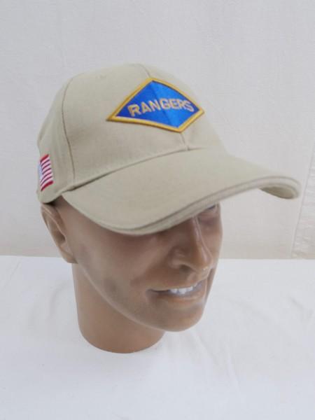 WW2 Ranger Regiment Baseball Cap Schirmmütze US Army neu