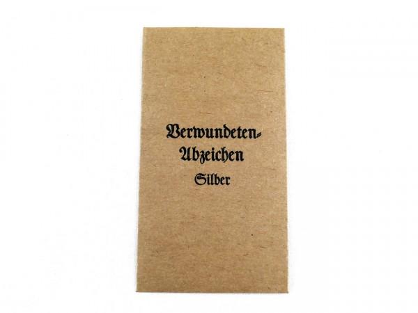 Verleihungstüte Verwundetenabzeichen (418)