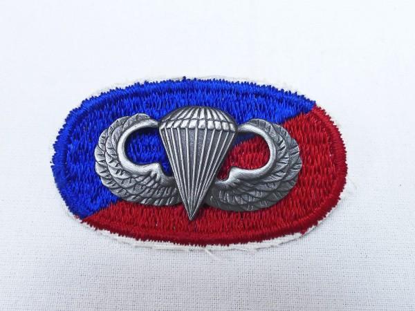 #02 US Airborne Jump Wing oval - Parachute badge Fallschirmjäger Abzeichen Springerabzeichen