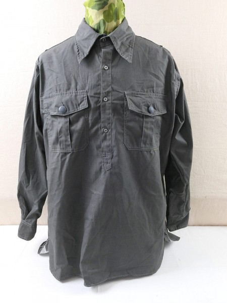 Wehrmacht Soldaten Feldhemd Diensthemd feldgrau Hemd Feldbluse
