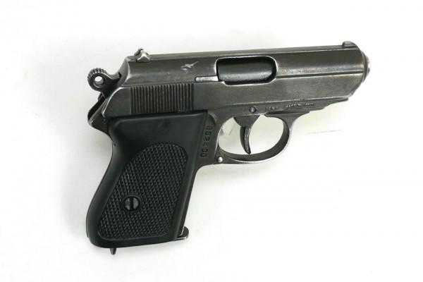 Wehrmacht Polizei Kurzpistole Kal. 7.65 Automatische Pistole Antik finish Deko PPK