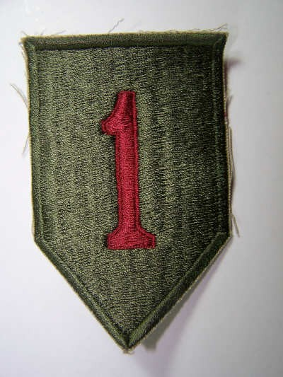 1st Infantry Division patch