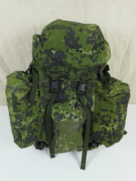 DÄNEMARK Army M/96 großer Infanterie Rucksack Trekking Outdoor DFM7 + Seitentaschen