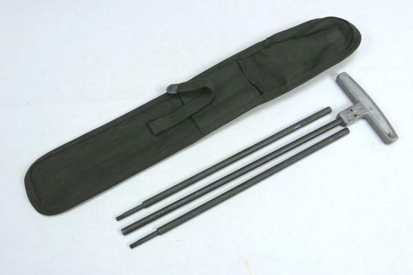 US Army M1 Cleaning Rod + Case / Putzstab + Tasche für 30 Cal.
