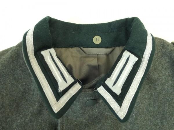 Wehrmacht 1m Kragenlitze silber für Feldwebel + Unteroffizier Litze für Uniform Feldbluse