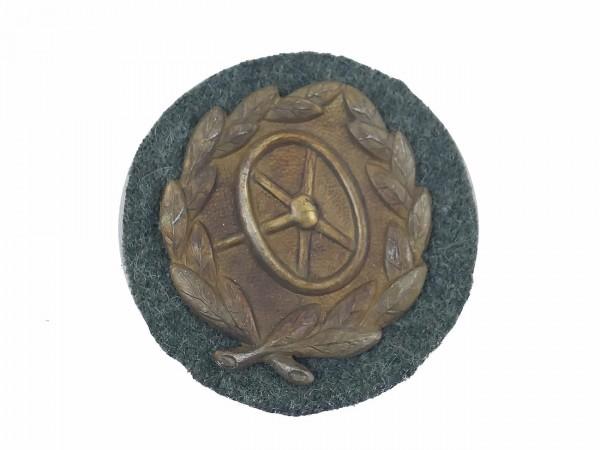 Kraftfahrerbewährungsabzeichen Stufe Bronze