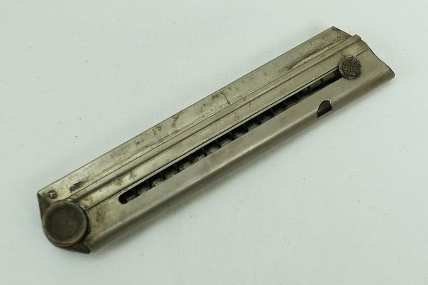 Original P08 Magazin 9mm Holzboden mit Nr.