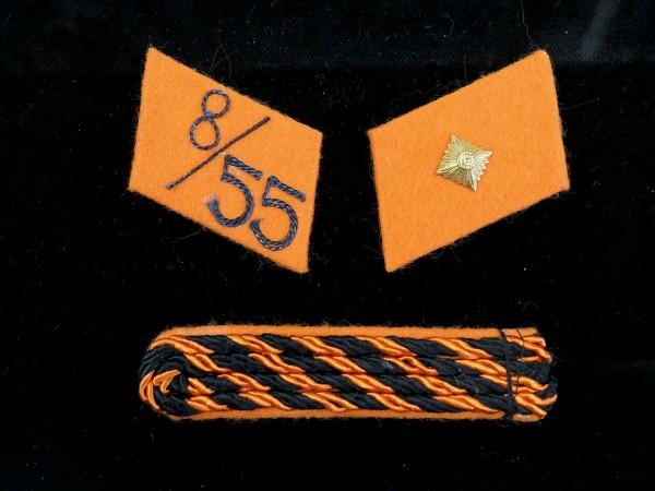 SA Kragenspiegel SA-Mann im Sturm 8 / SA-Reiter Standarte 55 / der SA-Gruppe Baden-Wüttemberg - Stan