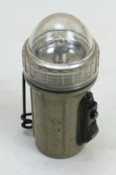 Original US ARMY Flash Light Dome Lens Fulton Wauseon Vietnam