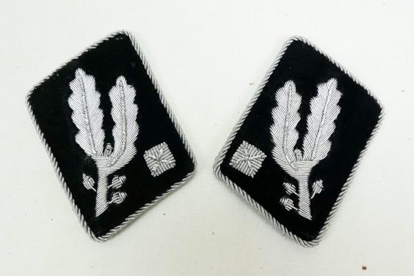 WSS Kragenspiegel Brigadeführer 1xPaar