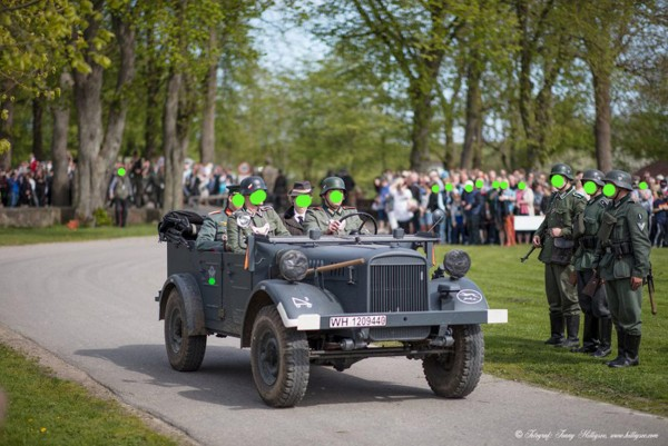 Film Fahrzeug Verleih Wehrmacht Stöver SDKFZ 1 schwerer Kübelwagen, Spähwagen, Opel Blitz