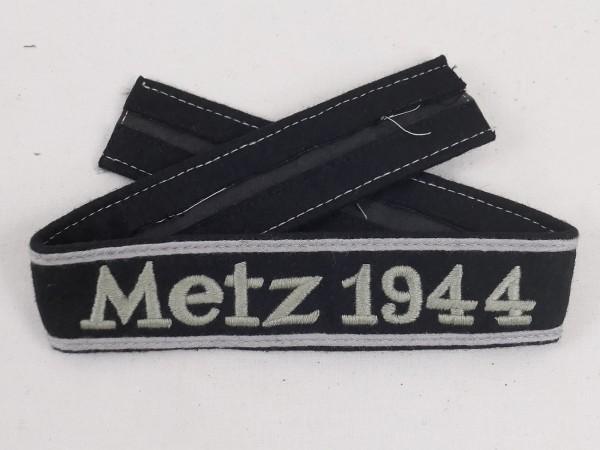 WSS Waffen Elite Ärmelband Metz 1944