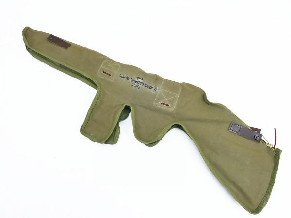 US ARMY WW2 Tasche Holster Cover für M1928 Thompson Maschinenpistole