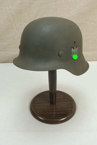 Wehrmacht Stahlhelm M42 Gr.59 Original Heeres Glocke gestempelt SD