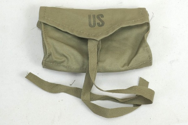 US Army WW2 Verbandspäckchen Tasche First Aid Medical Corps Pouch Carrier 1944