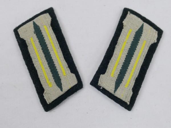 Wehrmacht 1xPaar Kragenspiegel Nachrichtendienst Fernmeldetruppe