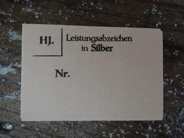 """Verpackung für Orden """"Leistungsabzeichen in Silber"""""""