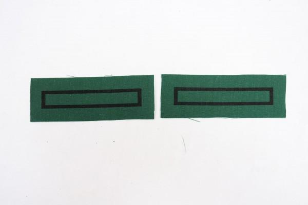 1x Paar WSS Unterscharführer Dienstgradabzeichen für Tarnuniformen und Sonderbekleidung