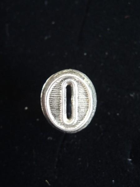 Wehrmacht Auflage Zahl / Ziffer 0 - 9 Schulterstücke Schulterklappe Höhe 15mm