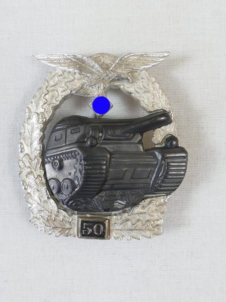 Panzerkampfabzeichen der Luftwaffe mit Einsatzzahl 50